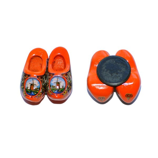 Klompjes Koelkast magneet -Oranje-