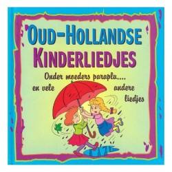 Oud-Hollands liedjesboekje - Blauw
